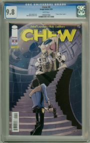 Chew #4 First Print CGC 9.8 John Layman Rob Guillory Image comic book
